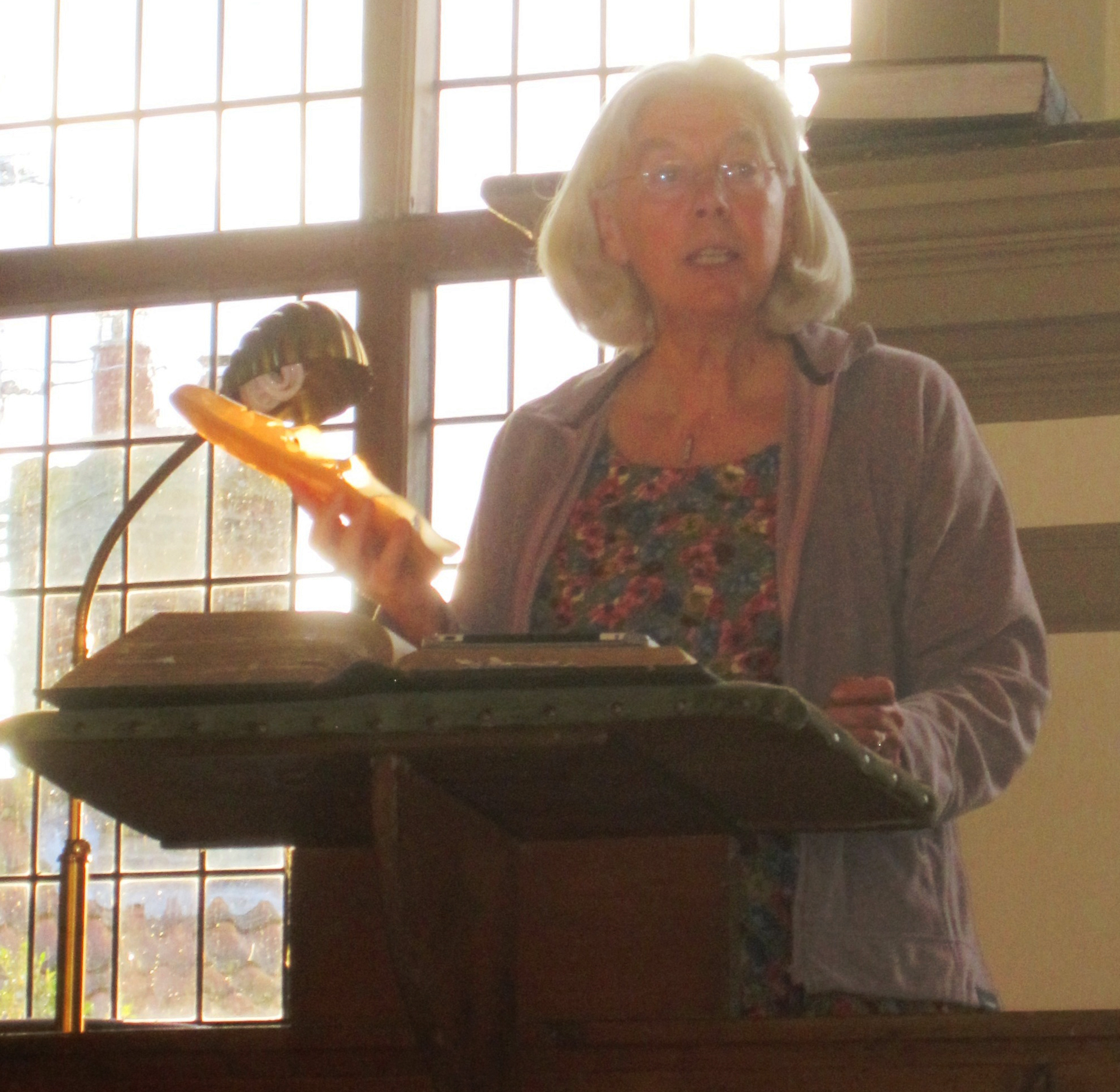 A reading at Walpole