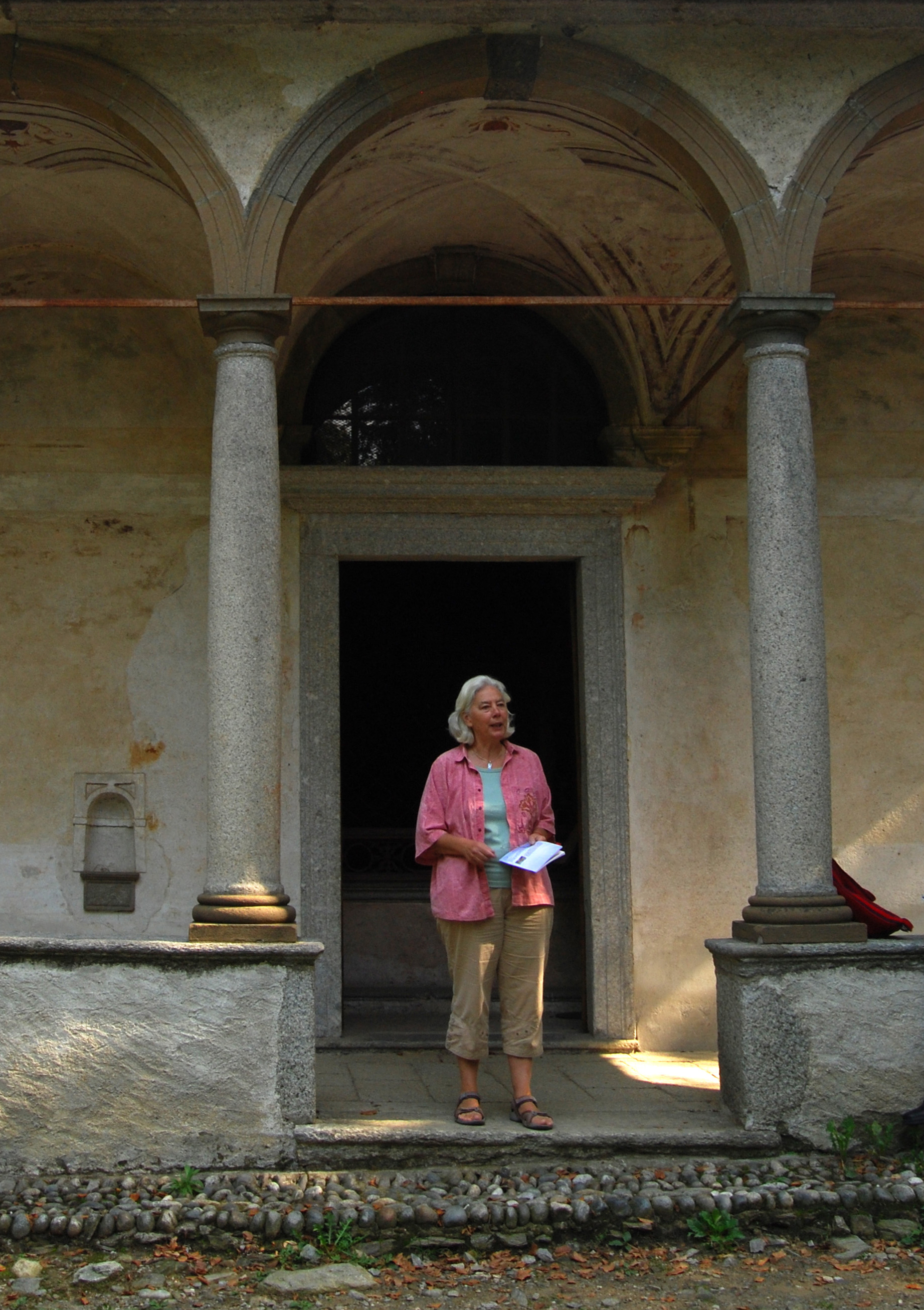 A reading on Sacro Monte