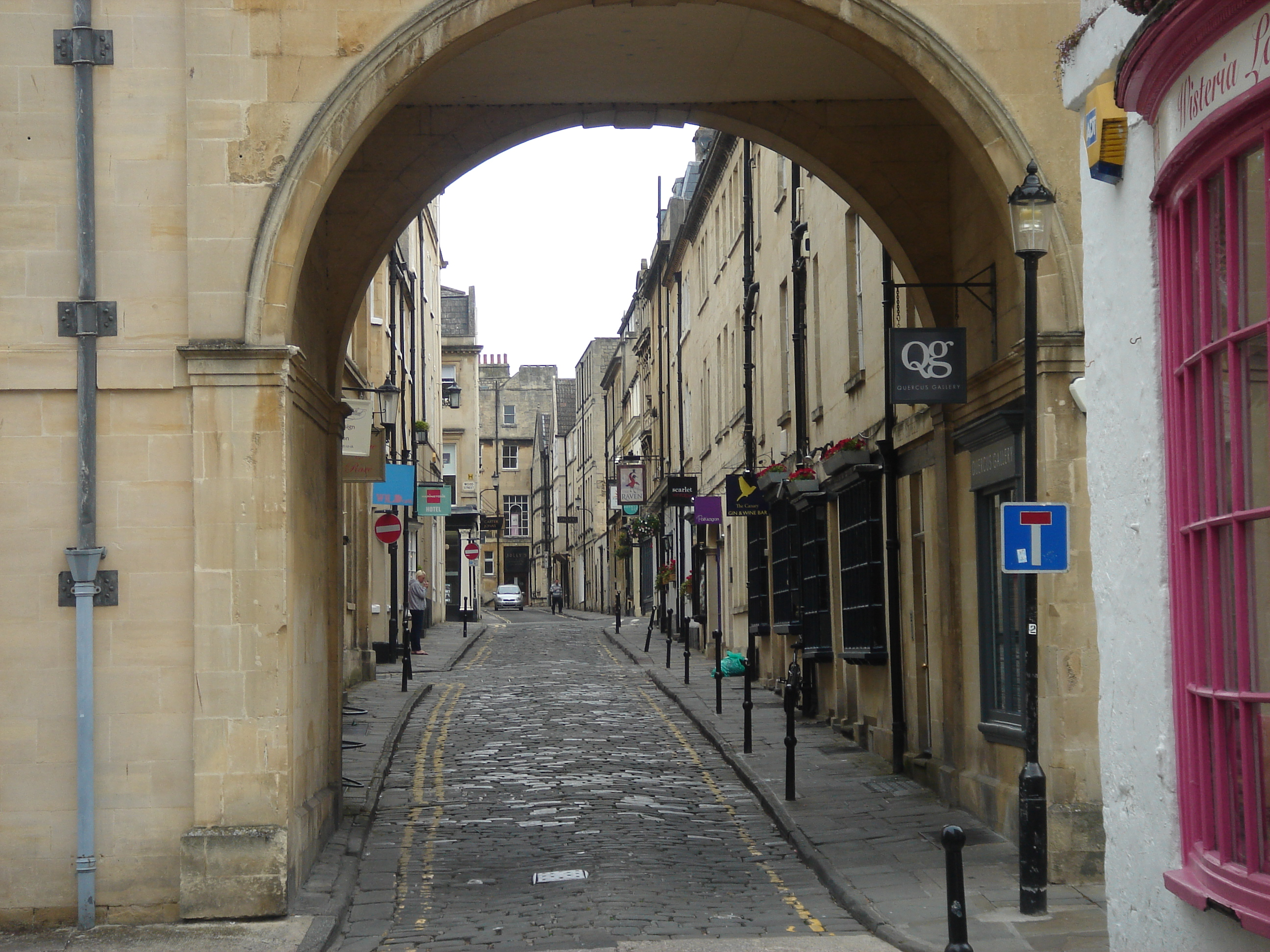 Street through arch 2