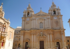 Mdina cathedral reduced