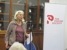Reading at Poetry Society